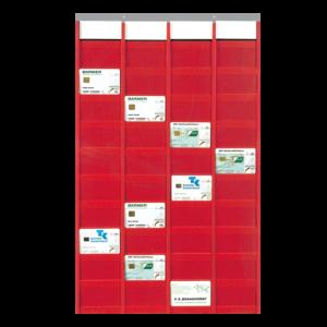 Fensterbox für Magnetkarten