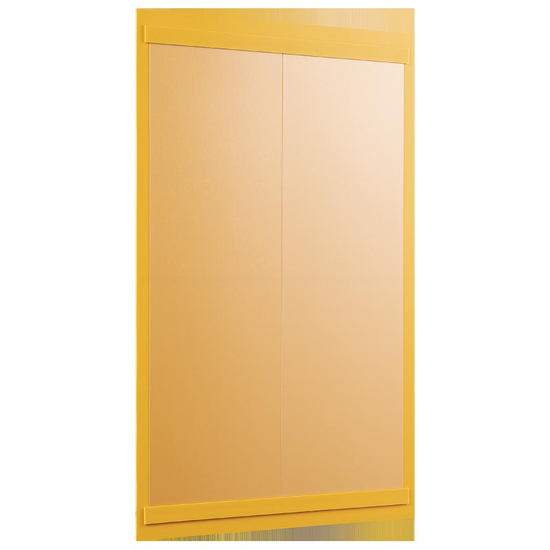 ahpart Dienstplantafel Hochformat Art. 3D01 gelb