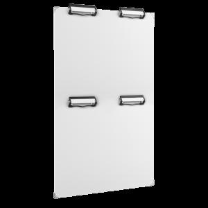 ahpart Mehrklemmfeld MKF 4, A4 Hochformat weiß