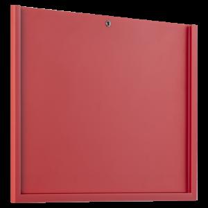 ahpart Steckrahmen A4 Querformat rot für laminierte Blätter
